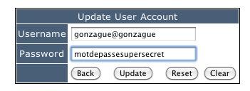 ajout de compte utilisateur au serveur RADIUS hébergé