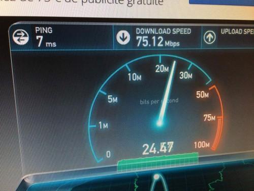 OVH Speedtest VDSL Apres