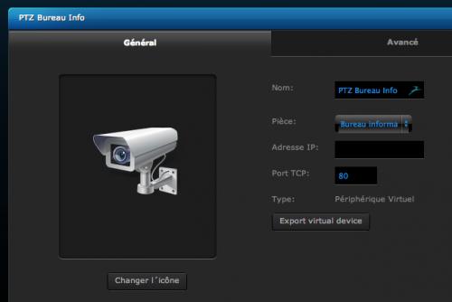 Fibaro - ajout module virtuel