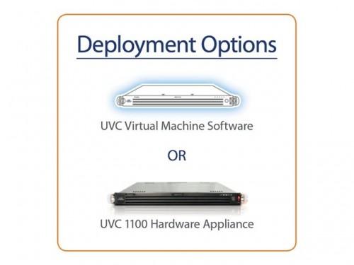 LifeSize UVC : déploiement physique ou virtualisé