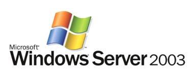 Logo Windows Server 2003