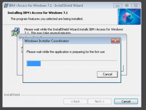 coordinateur de windows installer