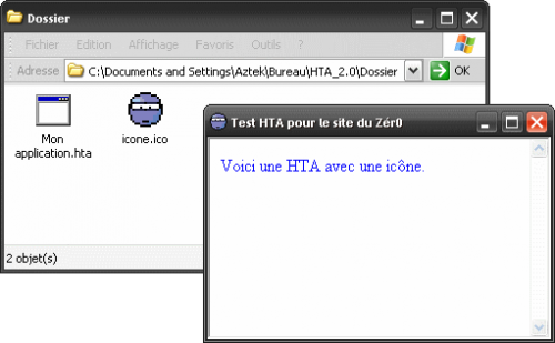 fichier HTA